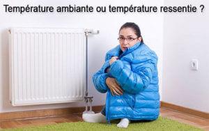 absence de confort thermique chauffage convection