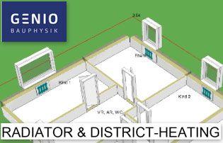 radiateur eau reseau de chaleur