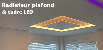 radiateur lumineux led