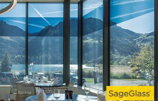 Smart glazing (dynamic) for comfortable and sustainable buildings