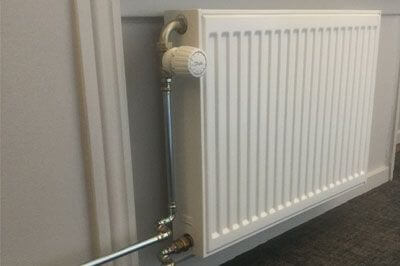 radiateur à chauffage central eau chaude