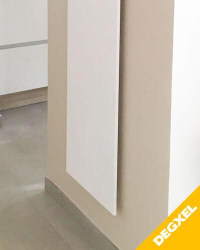 Radiateur extra plat design pour salon DEGXEL