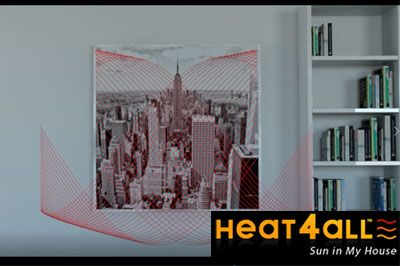 Heat4all radiateur infrarouge ICONIC