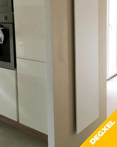 Radiateur extra plat design pour cuisine DEGXEL