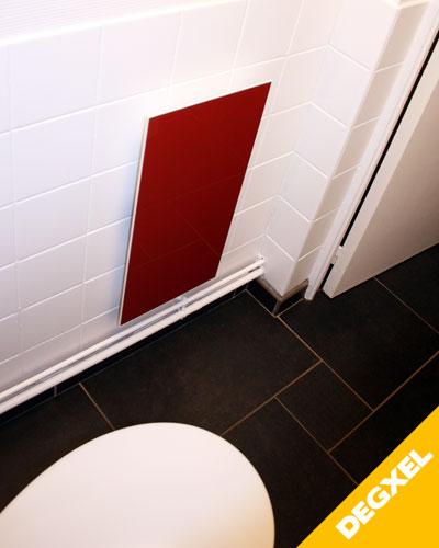 radiateur infrarouge verre salle-de-bain