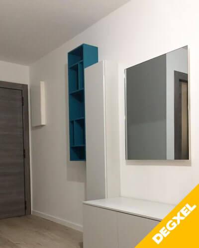 radiateur d'architecte miroir chauffant 600W