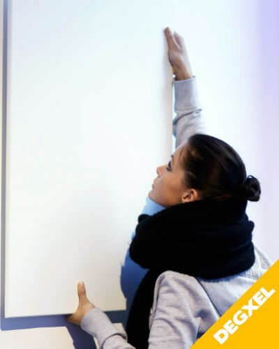 radiateur mural design degxel 730W