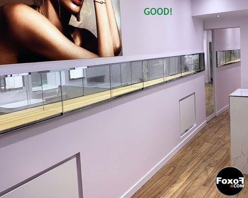 Bon emplacement pour radiateur électrique rayonnant plafond