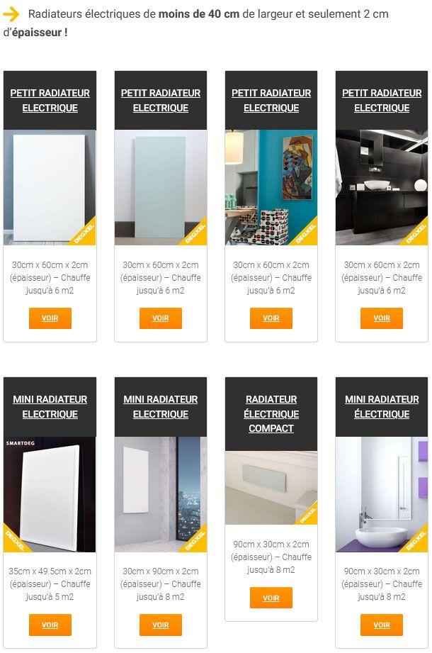 Guide sélection radiateur infrarouge design