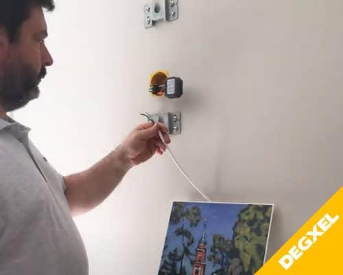 raccordement recepteur radio thermostat sans fil