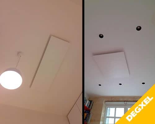 radiateur electrique plafond