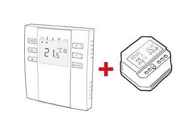 thermostat numérique programmable sans-fil