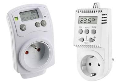 thermostat prise 2 en 1