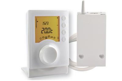 thermostat numérique programmable sans-fil tybox237