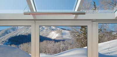 How to heat a veranda efficiently?